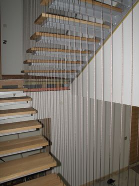 Bespoke Stair Side Protection Wires