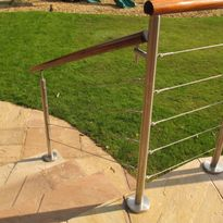 Wire balustrade kit
