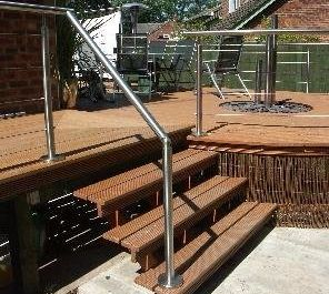 Domestic Decking Balustrade