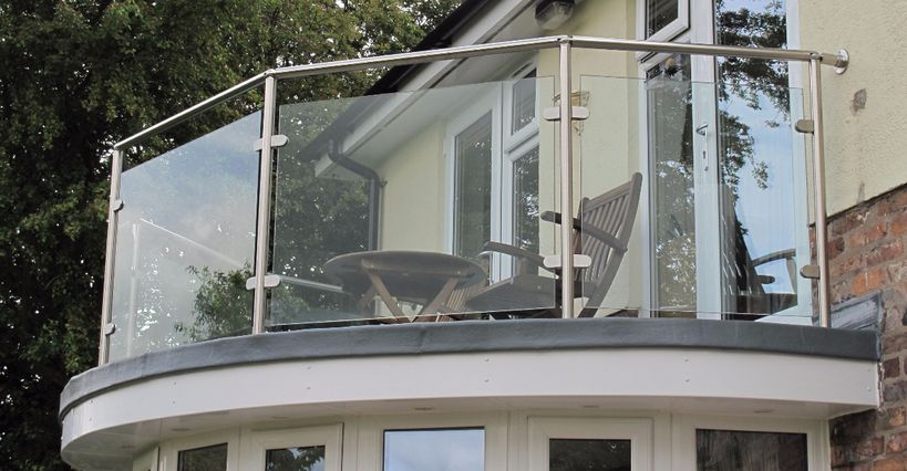glass infill balustrade systems